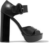 Michael Kors Nellie leather platform sandals