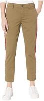 Current/Elliott The Side Stripe Confidant Pants (0 Clean Army) Women's Casual Pants