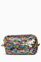 Next Womens Multicoloured Sequin Make-Up Bag