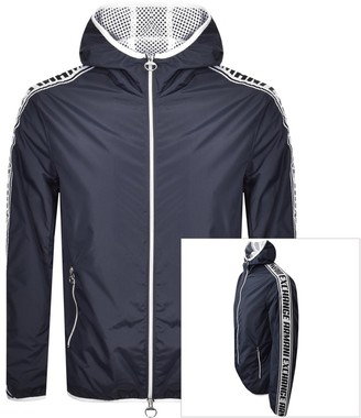 Armani Exchange Logo Jacket Navy