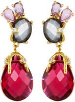 Indulgems Mixed Gemstone Statement Drop Earrings