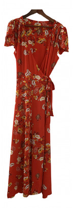 Free People Red Viscose Dresses