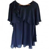 Plein Sud Jeans Blue Silk Dress for Women