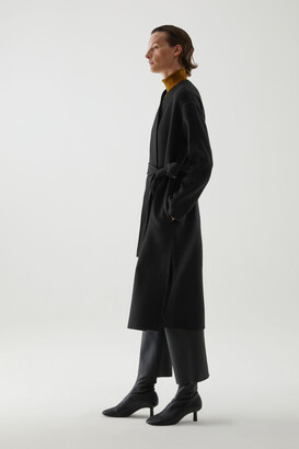 Cos Belted Wool-Cashmere Coat