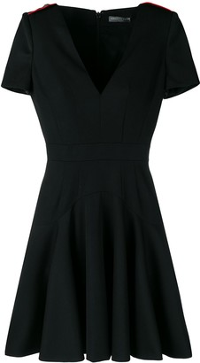 Alexander McQueen Flared Mini Dress