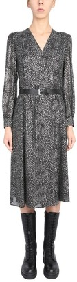 MICHAEL Michael Kors Metallic Star Shirt Dress