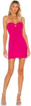 superdown Yulia Strapless Mini Dress