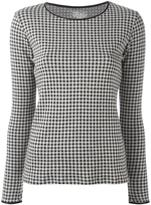 Majestic Filatures checked jumper
