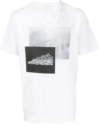 Alyx abstract print T-shirt