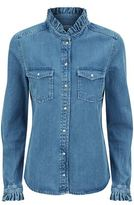 Claudie Pierlot Carry Denim Top