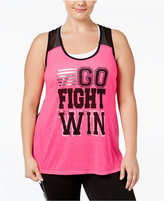 Material Girl Active Plus Size Graphic Tank Top, Only at Macy's