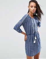 Pepe Jeans Diana Tassle Belted Dress