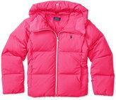 Ralph Lauren Insulated Hooded Jacket, Big Girls (7-16)