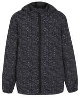 George Shower Resistant Printed Hooded Jacket