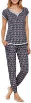 Kensie Short Sleeve Pajama Set