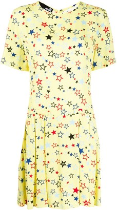 Love Moschino Star Print Shift Dress