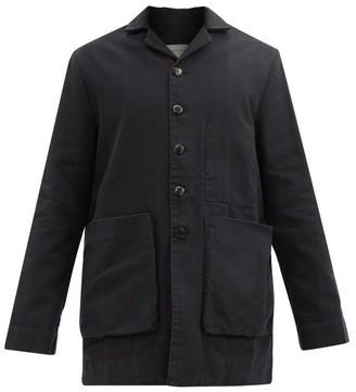 Toogood The Photographer Patch-pocket Cotton-canvas Jacket - Black