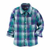 Osh Kosh Oshkosh Long-Sleeve Plaid Button-Front Shirt - Toddler Boys 2t-5t