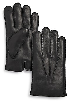 Polo Ralph Lauren Cashmere Lined Leather Gloves