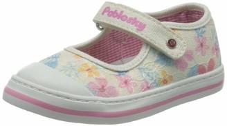 Pablosky Kids Baby Girls Open Back Slippers