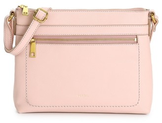 Fossil Evie Leather Crossbody Bag