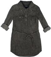 True Religion Black Western Shirt Dress - Girls