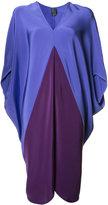 Zero Maria Cornejo V-neck shift dress - women - Silk - 6