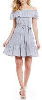 Daniel Cremieux Niko Off-the-Shoulder Short Sleeve Dress