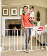 Regalo Flexi Gate Extra Wide Configurable Metal Walk-Through Gate