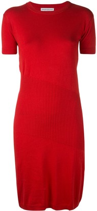 ALEXANDRA GOLOVANOFF Short-Sleeved Knit Dress
