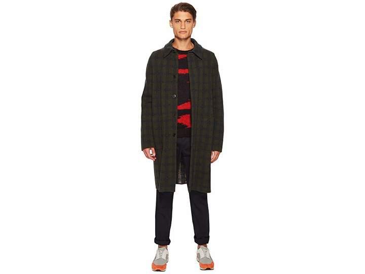 Missoni Boiled Wool Jacquard Coat Men's Coat