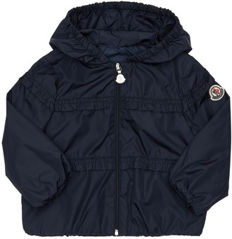 Moncler Hiti Ruched Nylon Jacket