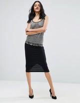 Asos Midi Pencil Skirt in Jersey