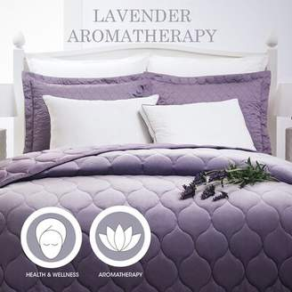 Alwyn Home Powers Aromatherapy Lavender Scented Medium Down Alternative Bed Pillow Alwyn Home