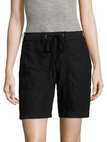 James Perse Solid Drawstring Short