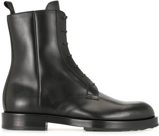 Pierre Hardy Parade combat boots