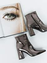 Therapy Gun Metal Alloy Boots