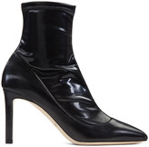 Jimmy Choo Black Louella Boots