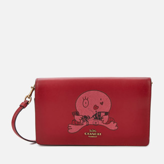 Coach 1941 Women's Signature Horse and Carriage 2 by Guang Yu Hayden Bag - Tan Red Apple