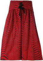 Yang Li oversized drawstring bermuda shorts - men - Cotton - 50