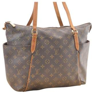 Louis Vuitton Totally Brown Cloth Handbag