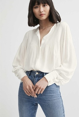 Witchery Pintuck Blouse