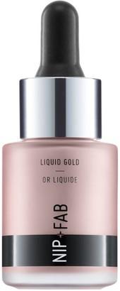 Nip + Fab Nip+Fab Make Up Liquid Gold Highlighter 15Ml White Gold