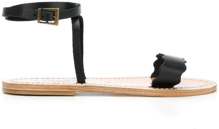 Solange Sandals side buckle sandals