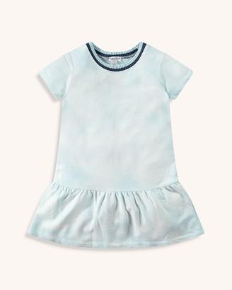 Splendid Little Girl Sweater Trim Dress