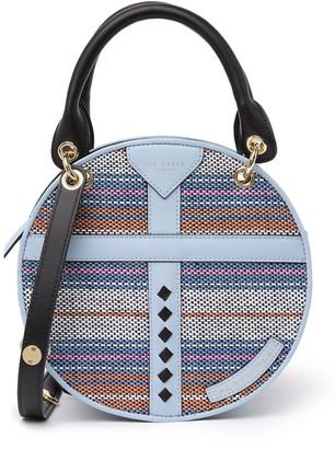 Ted Baker Circular Leather Trim Bag