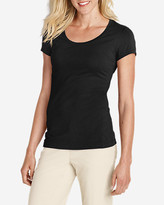 Eddie Bauer Women's Lookout Short-Sleeve T-Shirt - Solid