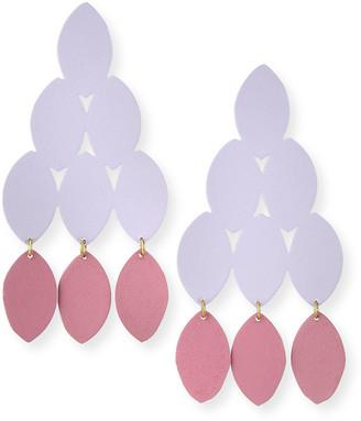We Dream In Colour Kiketta Earrings, Purple