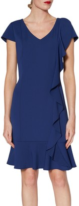 Gina Bacconi Tatiana Asymmetric Dress