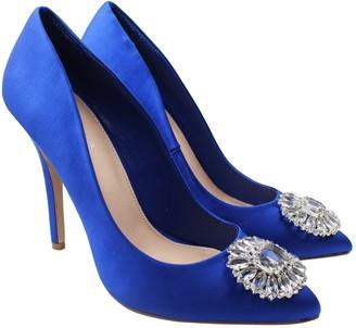 Carvela Blue Leather Heels